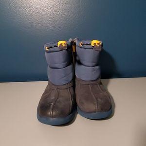 Navy unisex UGG Puffer Boot